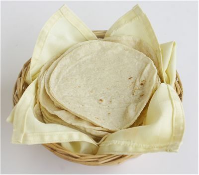 Picture - Basket of Tortillas