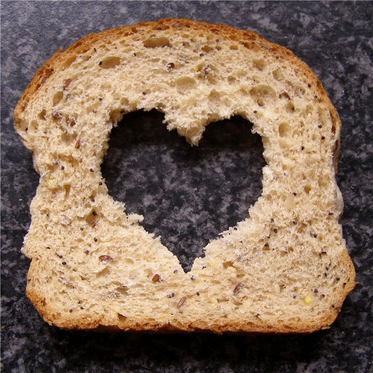 Picture - Bread Slice with Heart