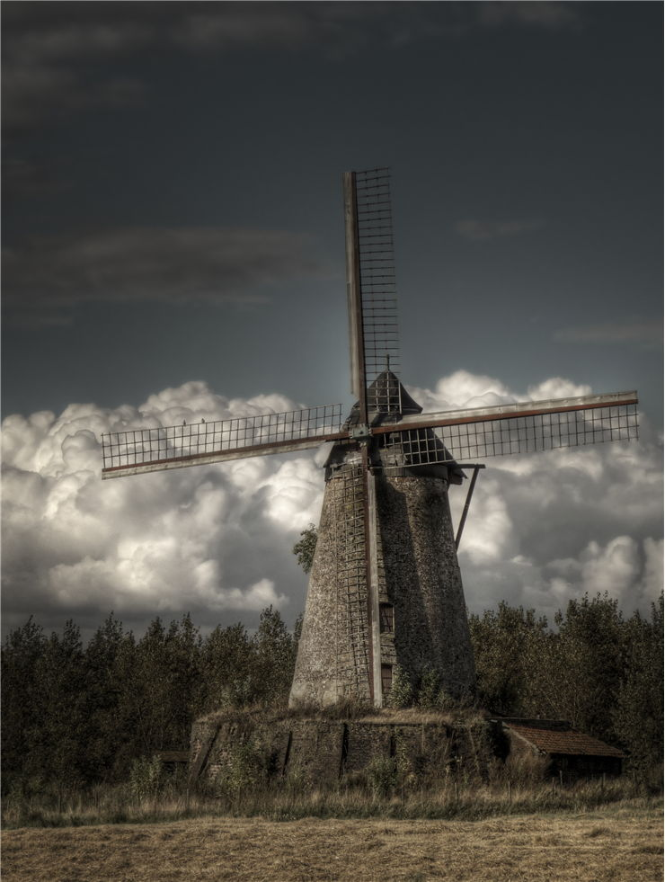 Picture - Old Abandoned Mill