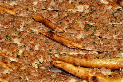 Picture - Pitta Bread with Mince Meat