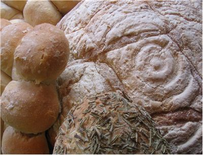 Picture - Three Types of Bread