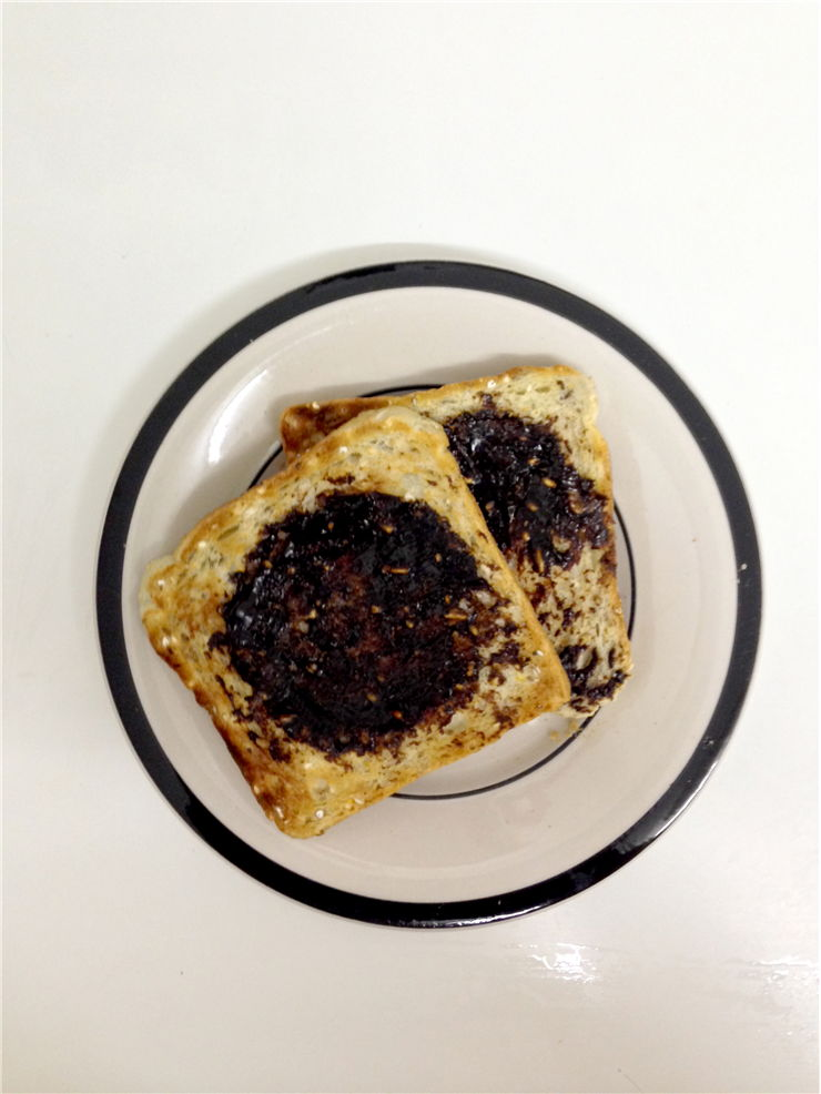 Picture - Toast Bread with Vegemite