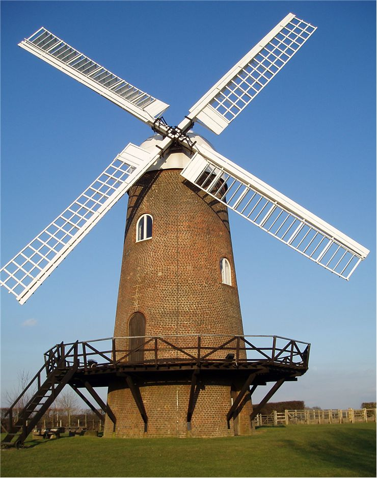 Picture - Windmill - Making Bread